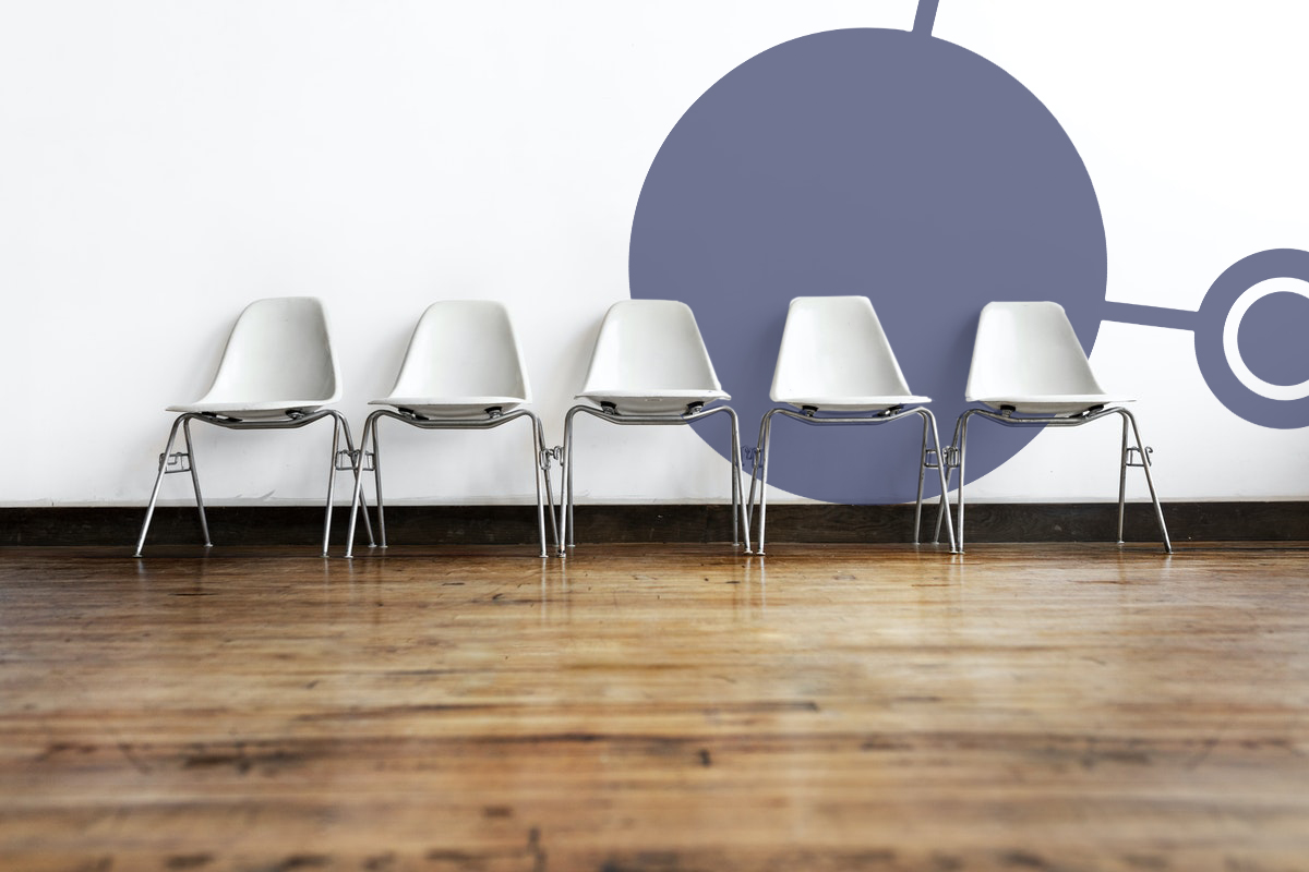 chairs white wall