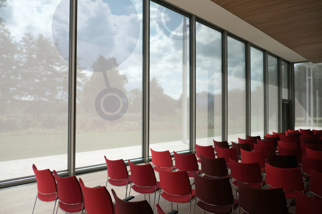 red chair room